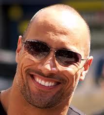 the rock bald